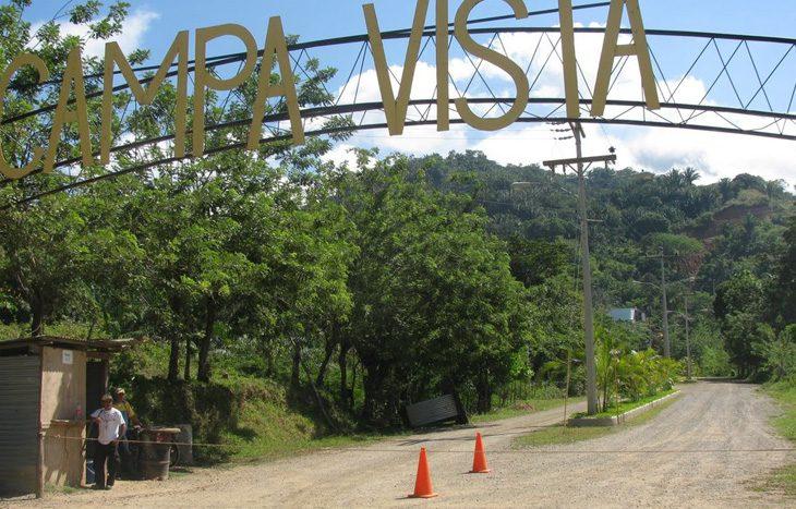 Campa Vista entrance